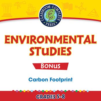 Carbon Footprint Gr. 5-8 - BONUS WORKSHEETS