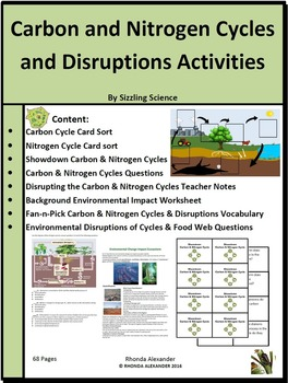 Carbon and nitrogen cycle teaching resources teachers pay teachers ccuart Gallery