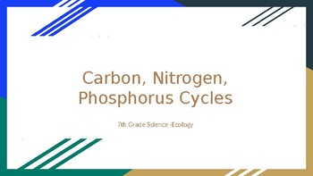 Nitrogen and carbon cycle teaching resources teachers pay teachers carbon nitrogen and phosphorus cycles ppt carbon nitrogen and phosphorus cycles ppt ccuart Choice Image