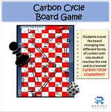 Middle school carbon cycle board game
