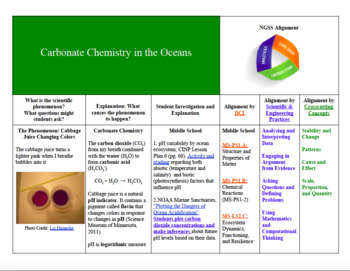 Carbonate Chemistry and Human Impact of Ocean Acidification, NGSS-Aligned Lesson