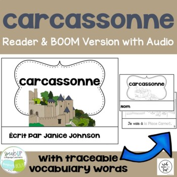Carcassonne, France Reader & Vocab work ~ Simplified for Language Learners