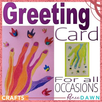 Greeting Card for All Occasions - Beautiful Hand