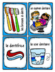 French Word Wall Card Collection - CHEZ LE DENTISTE