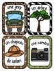 French Word Wall Card Collection - EXPLORATEURS