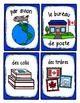 French Word Wall Card Collection - LE BUREAU DE POSTE