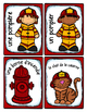 French Word Wall Card Collection - LES POMPIERS