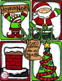 French Word Wall • Christmas • NOËL