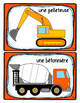 French Word Wall Card Collection - ZONE DE CONSTRUCTION