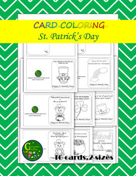 Card Color Printable St. Patrick's Day