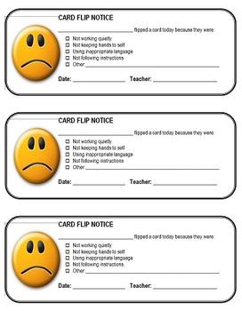 Card Flip Notices