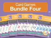 Card Game Bundle 5 | 5 Games for Basic Math - Rearranging