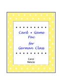 Card Game * Pac For German Class