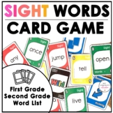 Card Game for 1st and 2nd Grade Sight Word Practice - Play