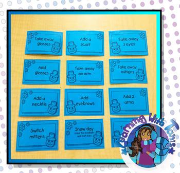 Card Game_Snowman