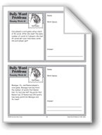 Card Games (Grade 6+ Daily Word Problems-Week 16)