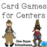 Card Games for Centers