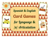 Card Games for Spanish-English Language and /s/ Articulation - Uno, Go Fish
