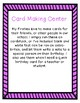 Card Making Center