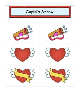 Card Matching- Cupid