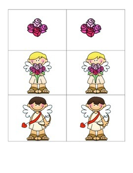 Card Matching- Cupid Matching