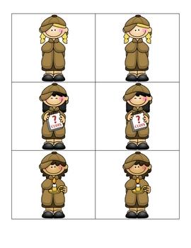 Card Matching- Detectives