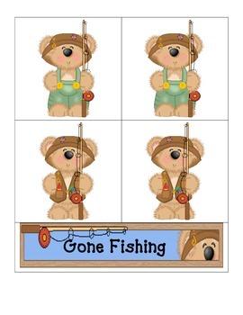 Card Matching- Gone Fishing