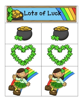 Card Matching- Lots of Luck