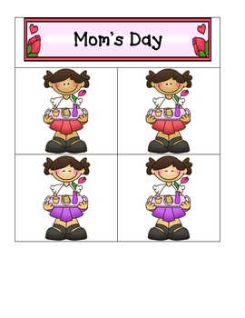 Card Matching- Mother's Day