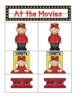 Card Matching- Movie Style
