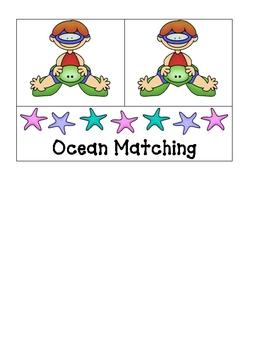 Card Matching- Ocean