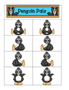 Card Matching-Penguins
