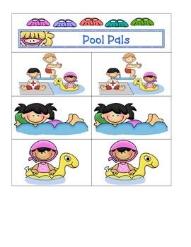 Card Matching- Pool Pals