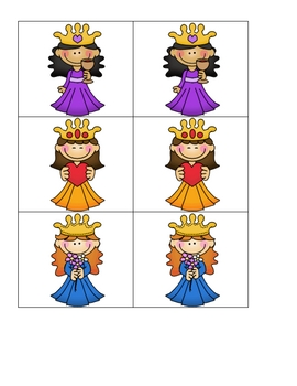 Card Matching- Princess