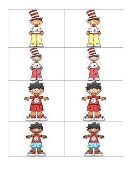 Card Matching- Red  Stripe