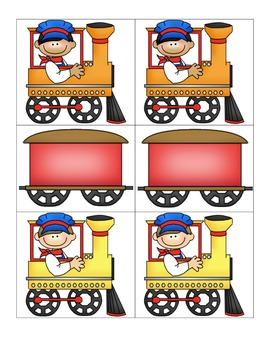 Card Matching-Trains