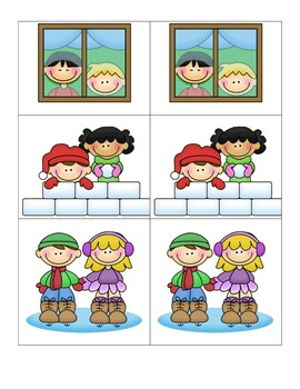 Card Matching-Winter