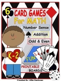 Math Games for Everyday ~ Fun in Kindergarten and Grade 1