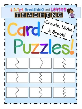 Card Puzzles- Make and Break!