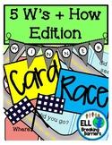 Card Race, ESL 5 W's + How Edition