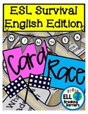 Card Race, ESL Survival English Edition