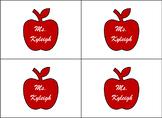 Card Sized Teacher Stationery EDITABLE FREEBIE!