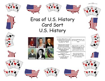 Card Sort - American Revolution & Constitution People