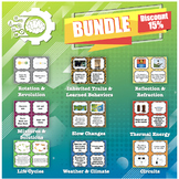 Card Sort: Science Bundle (perfect for 5th Science STAAR review)