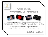 Card Sort - Characteristics of the Universe (Star, Nebula, Galaxy, Universe)