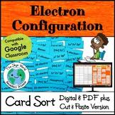 Card Sort Activity - Electron Configuration