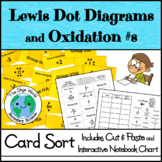 Card Sort Activity - Lewis Dot Diagrams and Oxidation Numbers