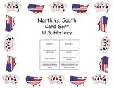 Card Sort - North vs. South