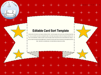 Card Sort Powerpoint Template
