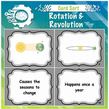 Card Sort: Rotation VS Revolution